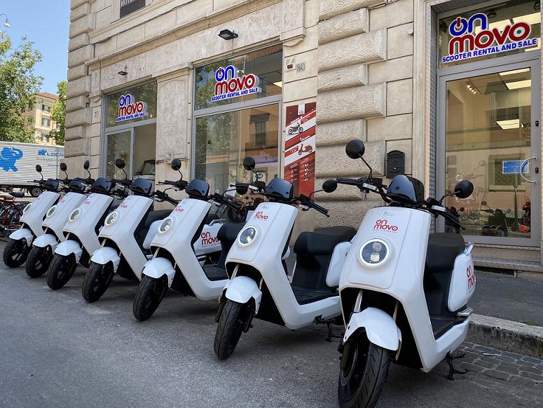 scooter noleggio termini roma