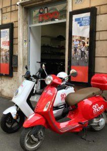 noleggio scooter roma centro