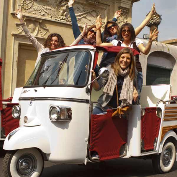 Tours_Rome_Ape_Calessino_Tuk