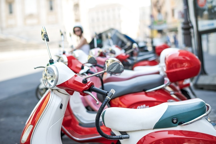 scooter rent in rome