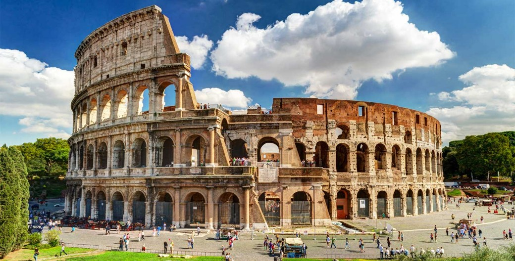 scooter rental colosseum rome
