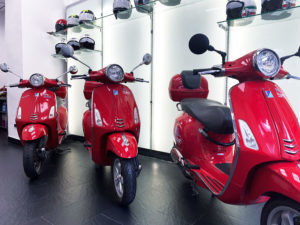 scooter rent and vespa rome